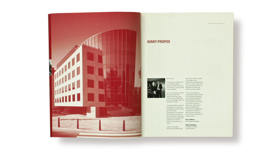 Banque de Luxembourg - Annual Report